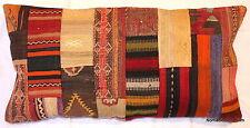 40*80cm, 16*32inch Genuine Turkish handwoven kilim cushion patchwork rectangle 2