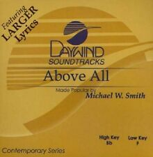 Michael W. Smith - Above All - Accompaniment CD New