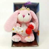 Animal Alley Rabbit Pink Bunny Plush Toy Stuffed Animal Toys R Us Happy Birthday