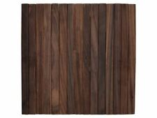 Creative Tops Naturals Slatted Wooden Placemats 30 X 29 Cm - Brown Set of 4