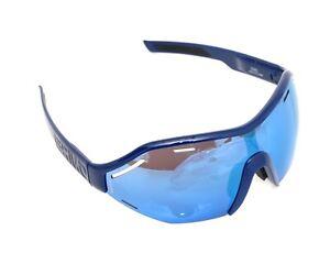 Briko Eyewear Sirio 2 Cycling Sunglasses Shiny Deep Blue O Lens Mirror Clear