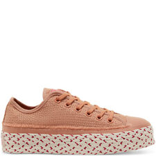 Converse Chuck Taylor All Star UK Size 6 Women's Shoes Pink Espadrille Trainers