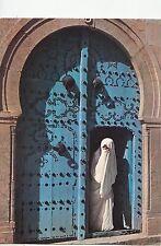 BF27121 sidi bou said femme voilee types tunisia   USA  front/back image