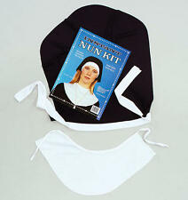 Nun Kit Headdress Collar Ladies Religious Fancy Dress Costume Hen Night