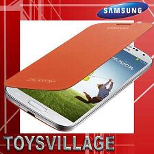 Samsung Original Flip Cover EF-FI950B orange, Galaxy S4 GT-I9505,Hülle,Case,NEU