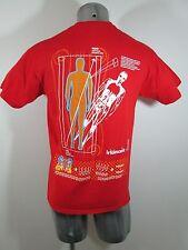 IOANA Magnetic Field Research MRI men's t-shirt red M