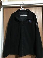 NFL LA Rams And Budweiser Heavy Fleece Jacket. Size Large