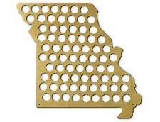 Beer Cap Traps Missouri State Map Beer Soda Pop Bottle Wood Cap Caps Organizer