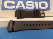 Casio Watch Band DW-5600 MS 1545, RZDW-5600 MS.  G-Shock Black Resin Strap