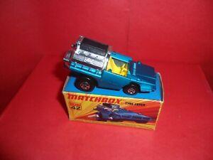 Matchbox Superfast #42-Tyre Fryer,Nr Mint In Nr Mint Original 'I' Type Box,1972.