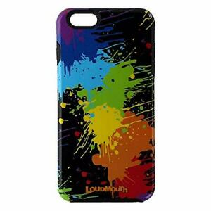 M-Edge LoudMouth Hybrid Case for iPhone 6 Plus / 6s Plus - Black / Neon Paint