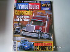 **a France Routes n°226 Volvo NH12-420  Evasion Libye  Iveco lancement Cursor 13
