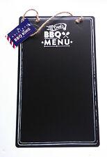 BBQ King in metallo menu Lavagna Giardino PAPA 'sta cucinando elenco dipinto Appeso Stringa
