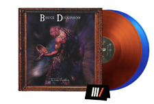 Bruce Dickinson The Chemical Wedding Double LP Coloured Brown Blue Vinyl New