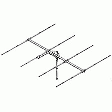Sirio SY 27-4 4 elements 26.5 - 30 Mhz Tunable Yagi beam Antenna