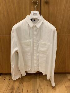 Haider Ackermann Mens Silk Blend Layerd Shirt Size Large RRP £950 Ex Display
