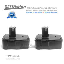 2x18V 2.0AH 2000mAh Ni-Mh Battery for CRAFTSMAN 223310 9-11103 982321-001 11306