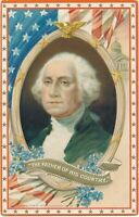 WASHINGTON'S BIRTHDAY - Washington The Father of His Country Tuck Patriotic PC