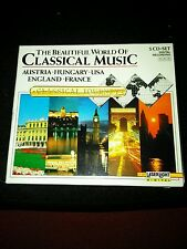 The Beautiful World of Classical Music 5 CD-Set Austria-Hungary-USA-England-Fran