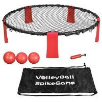 Striker Beach Volleyball Spike Game | Includes Ball (3) Net & Pump & Carry Bag