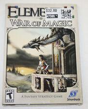PC Game - Elemental - War of Magic - Fantasy / Strategy / Dynasty - BRAND NEW