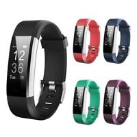 ID 115Plus HR Smart Band Heart Rate Monitor Waterproof Fitness Tracker Watch