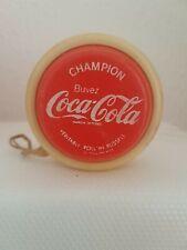 Veritable Roll'in up Russel yoyo vintage Champion Buvez Coca-Cola