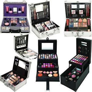 TECHNIC COSMETICS VANITY CASE Beauty Makeup Set Travel Carry Box Girls XMAS GIFT