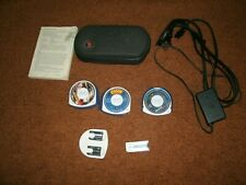 Sony PSP 2000 Launch Edition Massive Lot With Games, Case, Manual And MC's