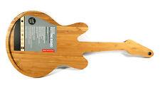 Schneidebrett Servierplatte E-Gitarre, Rockin' Cutting Board, Bambusholz, NEU