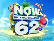 NOW 62: THAT'S WHAT I CALL MUSIC CD - VARIOUS ARTISTS (2017) - NEW UNOPENED