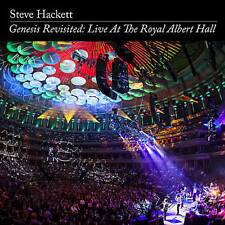 STEVE HACKETT - GENESIS REVISITED: LIVE AT THE ROYAL ALBERT HALL 2 CD + DVD NEW