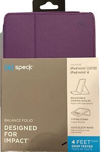 Speck Balance Folio Case for iPad mini (2019) & iPad mini 4 -Purple #126936-8330
