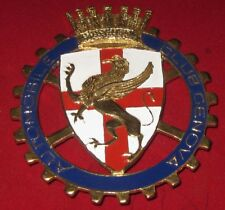 Car Badge-Automobile Club Genova car grill badge emblem enamled badge