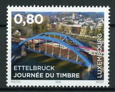 Luxembourg Bridges Stamps 2020 MNH Ettelbruck Bridge Stamp Day 1v Set