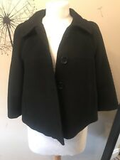 Oasis Jacket Coat Black Size 10