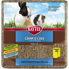 Kaytee Clean & Cozy Natural Small Animal Bedding 12.3L 750 Cubic Inches, 2 PACK