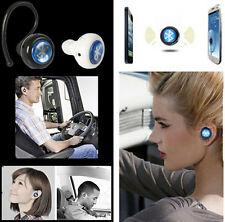 Diminuto Inalámbrico Bluetooth Mono Stereo auriculares Earbud auriculares FR Iphone Htc Nokia