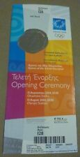 ATHENS 2004 OPENING CEREMONY IOC STAND UNUSED MINT CONDITION TICKET