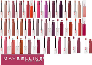 MAYBELLINE SUPERSTAY MATTE INK 5ML - BRAND NEW - CHOOSE COLOUR