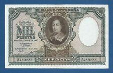 ESPAÑA // SPAIN -- 1000 PESETAS ENERO ( 1940 ) -- MBC // VF -- S/A -- PICK 120a
