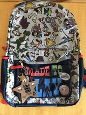 Disney Pixar Toy Story 4 Toys at Play Backpack Blue Youth School Bag