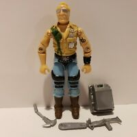 G.I. Joe ARAH 1985 BUZZER Action Figure Complete NEAR PERFECT MINT+++!!!