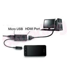 Micro Usb Mhl A Hdmi Hd Tv Cable Adaptador Para Samsung Galaxy teléfono