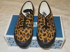 Vans Auténticas Gamuza LX Lona Estampado de Leopardo VN 000 uddu 9M Hombres Zapatillas nosotros tamaño 11