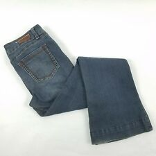 Standards Practices Womens Jeans Size 29 Blue Flare Stretch Medium Washed Soft