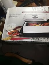 WEST BEND ELECTRIC BUFFET SERVER#89010-NEW IN BOX-UNOPENED.