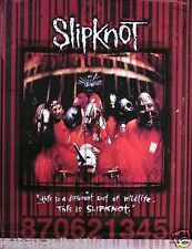 Slipknot 870621345 Original 1999 Promo Poster Var. 2