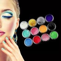 12 Farbset Mica Pigment Powder Perfekt für Seifenkosmetik Best Y5O1