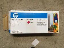 Vat Incl Genuine Original HP Q6003A - Magenta Toner Cartridge Box Open